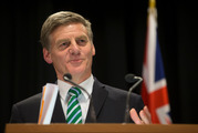 Prime Minister Bill English says parents just  want uniforms that are hard-wearing, easy to wash, easy to find and with socks that always match. Photo / Mark Mitchell.