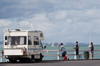 Tauranga City Council has announced it will get tough on freedom campers with patrols issuing instant fines. Photo/file