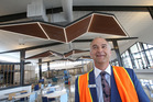 Papamoa Plaza manager David Hill says it was one-third of the way through its development. Photo/file