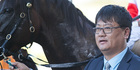 Lang Lin, chief executive of Inner Mongolia Rider Horse Group. Picture: supplied.
