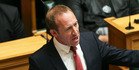 Labour leader Andrew Little speaks in the Budget debate. PHOTO/Getty Images
