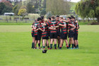 The Rangitikei College 1st XV were penalised before their match got underway after advancing the Stratford High School haka.