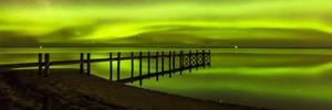 Aurora Australis lights up skies