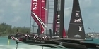 Watch: Focus: Team NZ flex their foils in America's Cup