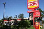 Hungry Jack's was drawn into battle when Burger King decided to enter the Australian market. Photo / News Corp Australia