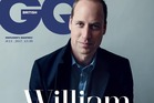 Prince William appears on the cover of British GQ magazine this month.