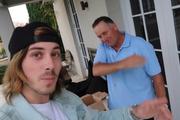 Max Key and John Key. Photo / YouTube
