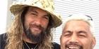 Watch: Jason Momoa joins haka for Mark Hunt