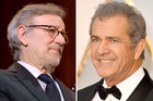 Both Steven Spielberg and Mel Gibson have creased ear lobes. Photos / Getty Images