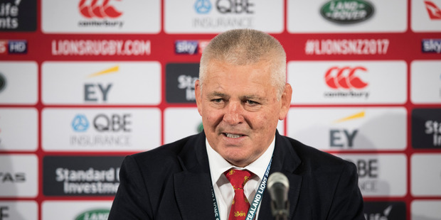 Lions tour: Coach Warren Gatland swears in frustration after media barrage