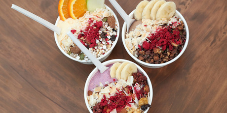 Smoothie bowls from Bowl and Arrow. Photo / Getty Images