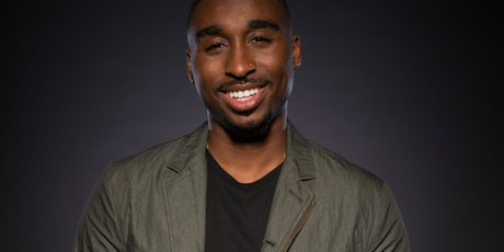 Demetrius Shipp Jr. plays Tupac Shakur in All Eyez On Me. Photo / AP