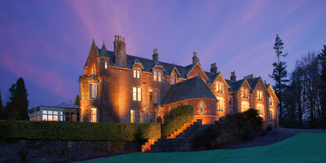 Andy Murray's Cromlix Hotel will make you feel like royalty. P