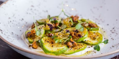 Sliced fig dish. Photo / Getty Images
