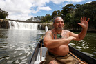 Hone Mihaka is passionate about stopping suicide killing Northland's young people. Here he is on the Waitangi River in the Bay of Islands in 2009 - before he got his facial ta moko. Photo/Sarah Ivey