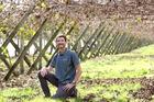 Richard Pentreath, senior orchards manager, Ngai Tukairangi Trust, on their Korokipo Rd kiwifruit block, Omahu, Hastings. .