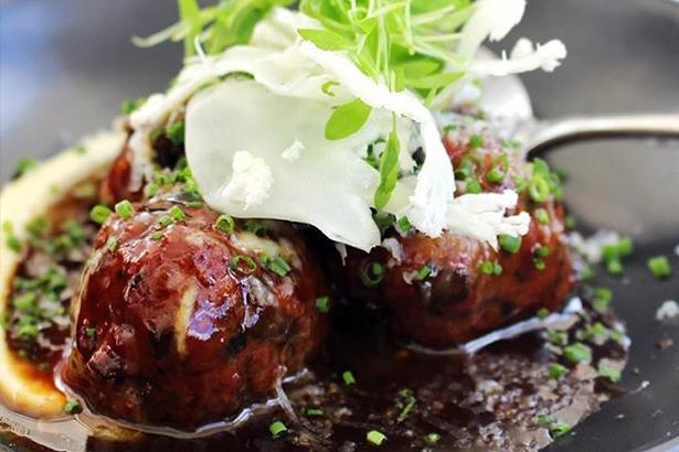 Meatballs at Baduzzi in Wynyard Quarter. Photo / @baduzzi