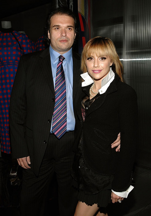 ctress Brittany Murphy and husband Simon Monjack in 2008. Photo / Getty Images