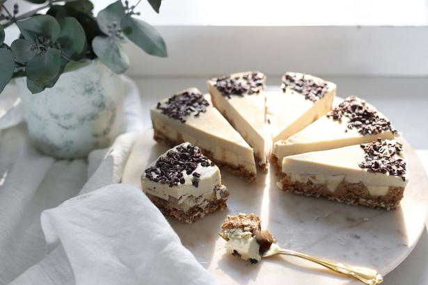 Eleanor Ozich's raw banoffee pie. Photo / Eleanor Ozich