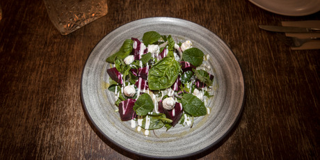 Beet nut salad at Crave. Photo / Michael Craig