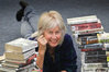 Mary-anne Scott, Havelock North author pictured at Hastings Library.