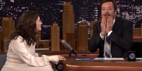Lorde meets Jimmy Fallon. Photo/Youtube