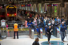 Busy stations will be fully-staffed, with electronic ticket gates and security surveillance. Photo / Greg Bowker