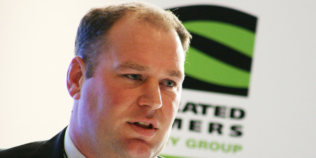 Federated Farmers' national vice president Andrew Hoggard