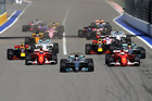 Valtteri Bottas leads the field during the Formula One Grand Prix of Russia. Photo / Getty Images