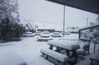 Snow at Mt Cook Village last Saturday. More is on the way, Weather Watch says. Supplied photo / Robert Hutchison