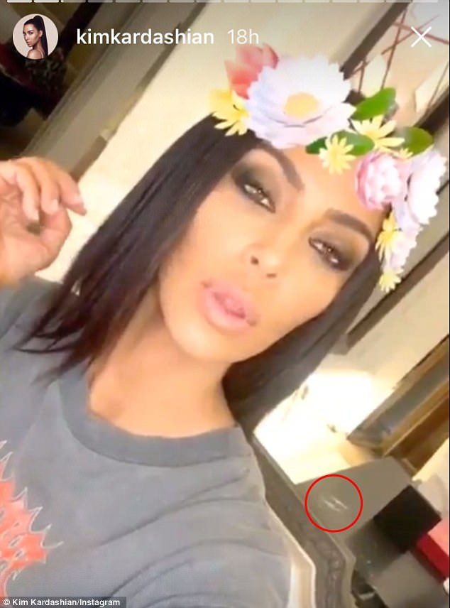 The 36-year-old KUWTK star was showing off items from her Kardashian Kids collection when followers noticed what appeared to be lines of cocaine.