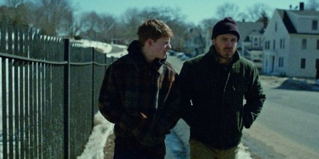 Lucas Hedges and Casey Affleck in Manchester By the Sea.