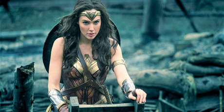 Gal Gadot stars as Wonder Woman.