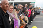 Te Awamutu residents make a stand against child abuse and commit to ensuring the safety of children in the community.