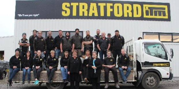 Happy, hard-working staff are the secret to success for Standard Timber ITM Stratford.