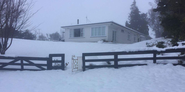 The extreme weather has been tough on farmers who had not planned for that much snow says Pete Fitz-Herbert. Photo / James Rogers