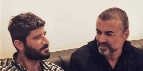 Fadi Fawaz, left, was the last person to see George Michael before his passing. Photo / Instagram: Fadi Fawaz