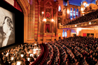 The theatre underwent a $40 million refurbishment in the 1990s and is a wonderland of minarets, panthers and Buddhas.