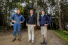 From left,  Miles McBain, Hugh Ritchie, and Simon White, farmers from Otane in Central Hawke's Bay.