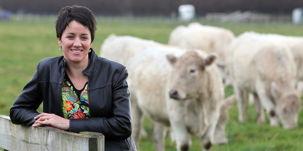 StockX Sales and Marketing Manager Emma Oliver says winning the Beef + Lamb NZ Sheep Industry Innovation Award is good for business. Photo/Waren Buckand