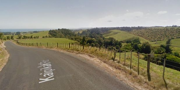 Police and ambulance were called to the scene on Kaipikari Rd near Urenui. Photo / Google Maps