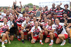 The Counties Manukau men's and women's team took out their respective titles at the Bayleys National Sevens.  Photo/Ben Fraser