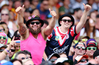 Fans enjoying the atmosphere during NRL Auckland Nines. Photo/Photosport