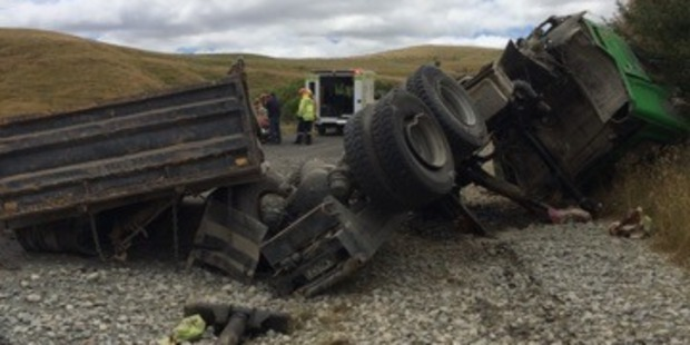 The man was taken to Hawke's Bay Hospital by the Lowe Corporation Rescue Helicopter in a stable condition. Photo / Supplied