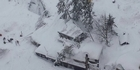 Watch: Watch: Rescuers reach hotel after avalanche in Italy