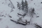 Italian officials say a hotel in an earthquake-hit zone of central Italy has been buried by an avalanche, with reports of dead. Italian media say that the avalanche covered the three-story hotel in the central region of Abruzzo on Wednesday evening.