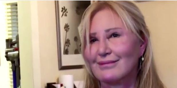 Loading Botched dermal fillers caused Carol Bryan's face to swell up 'like an alien'. Photo / YouTube / TheDoctorsTV
