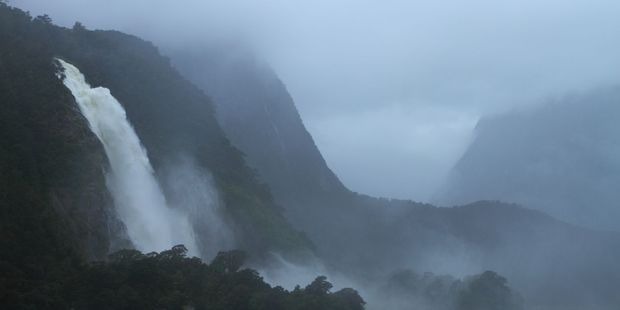 Fiordland and the parts of the West Coast could get up to 300mm of rain in a 24-hour period. Photo / 123RF
