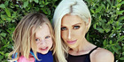 Simone Gately, with one of her daughters, is a fitness fanatic mum of five proving their really is no excuses not to have your dream body after pregnancy. Photo / CATERS