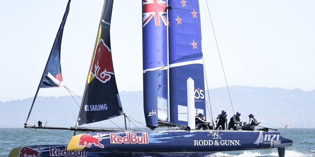 New Zealand will go into the Youth America's Cup in June as reigning champs after winning in 2013. Photo / Martial Gobet